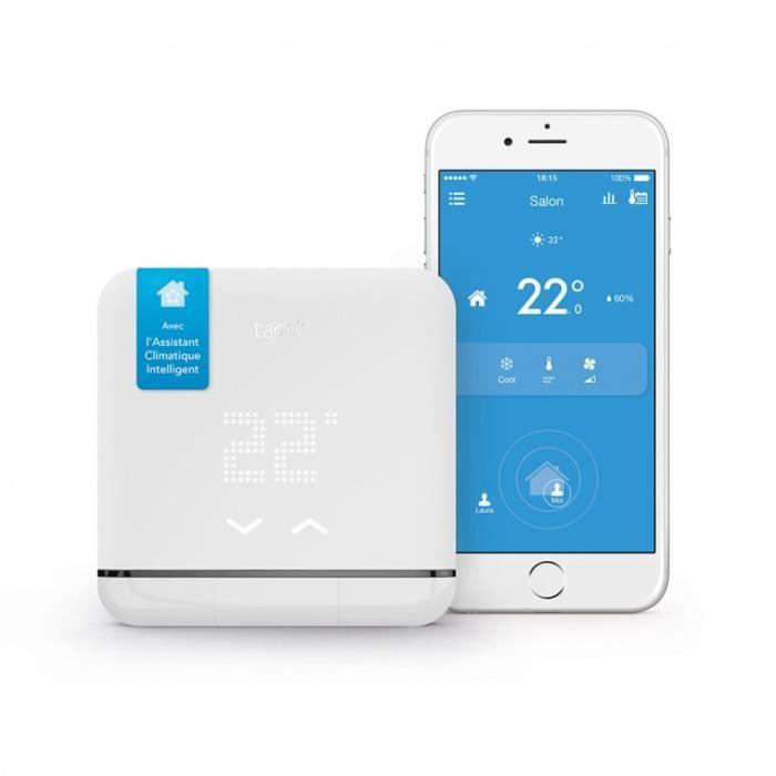 Thermostat connecté 2ème génération pour climatisation