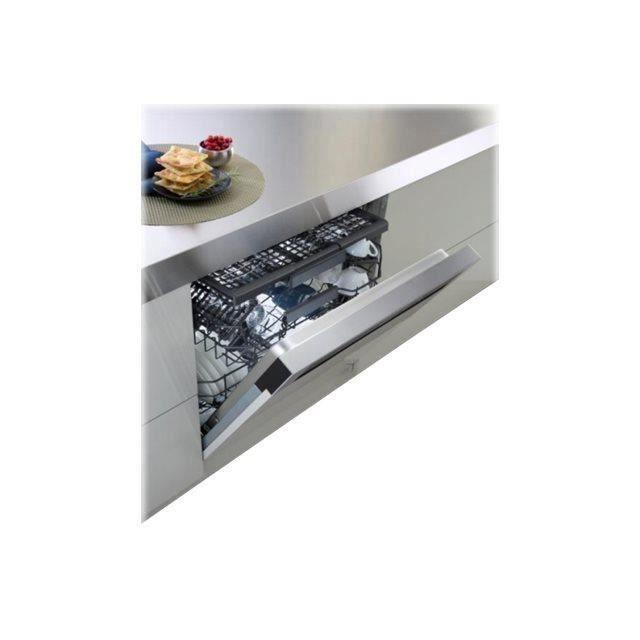 Whirlpool - lave-vaisselle 60cm 14 couverts a++ intégrable avec bandeau apparent inox - wcbo3t123pfi