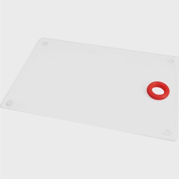 Plan de travail en verre de -couleur- zodiaque rouge
