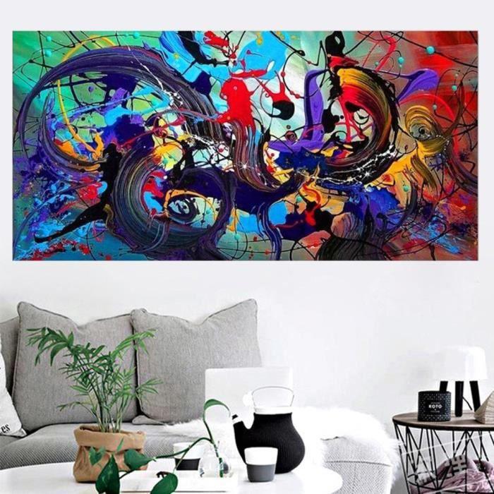 Moderne Abstrait Toile Art Peinture à L Huile Mur Image Décor Maison Non Encadrée 30 60 Qyy80317712s 1000