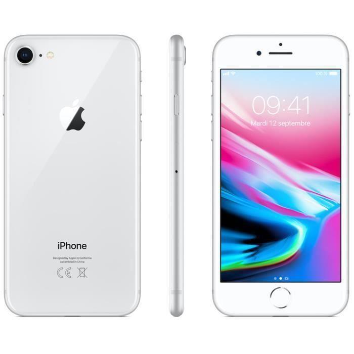 SMARTPHONE iPhone 8 64 Go Argent Reconditionné