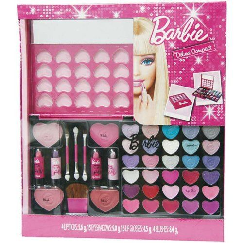coffret maquillage barbie achat vente poup e cdiscount. Black Bedroom Furniture Sets. Home Design Ideas