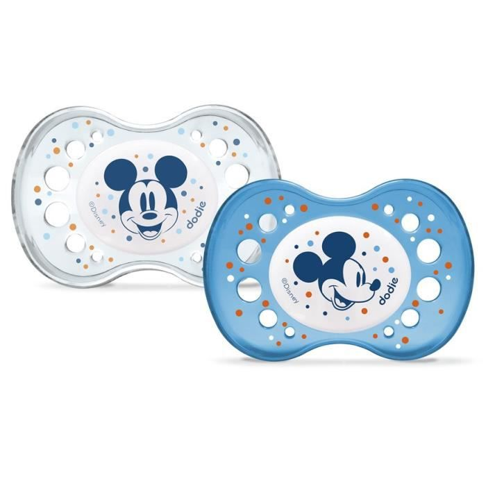 SUCETTE DODIE 2 Sucettes Anatomiques Disney Nuit Mickey 18