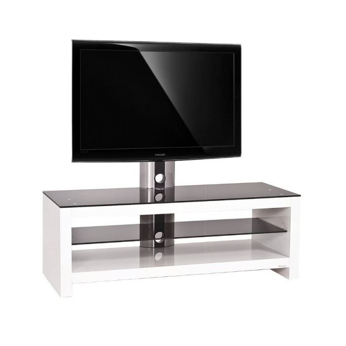 meuble tv design blanc pri 96h sw 32 50 pouces achat vente meuble tv meuble tv design pri. Black Bedroom Furniture Sets. Home Design Ideas