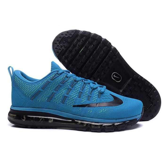 san francisco 80dd7 eee52 BASKET Nike Air Max 2016 Hommes Baskets Chaussures de run