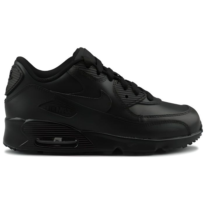 BASKET Nike Air Max 90 Ltr Enfant Noir
