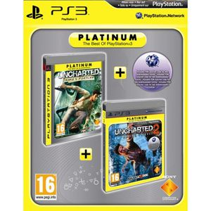 PACK ACCESSOIRE BIPACK UNCHARTED / Jeu console PS3