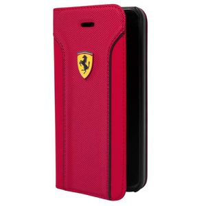 FERRARI étui Folio FIORANO PU rouge pour APPLE IPHONE 6+/6S+