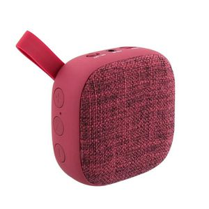 T'NB Record vol.1 Enceinte nomade bluetooth - 4W - Rouge