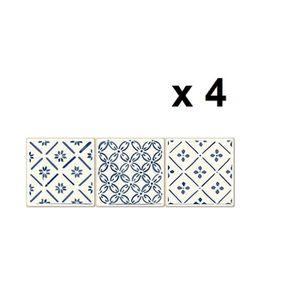 CARRELAGE - PAREMENT Printodecor - Set de 12 autocollants, Stickers adh