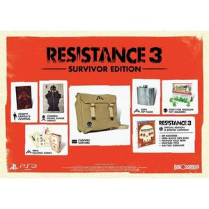 JEU PS3 Resistance 3 SURVIVOR EDITION : Playstation 3 , ML
