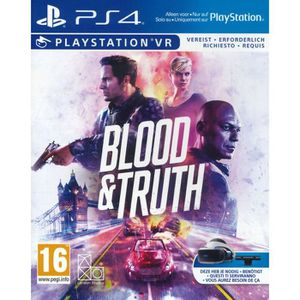 JEU PS VR Blood and Thruth (Playstation VR )