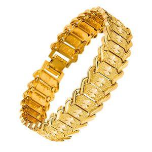 BRACELET - GOURMETTE Bracelet pour homme large motif de fleurs de style