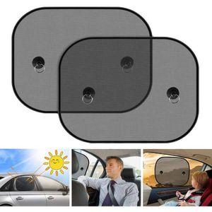 TFY Lot de 2 extensions de pare-soleil pour pare-soleil de voiture et pare-soleil anti-/éblouissement Noir