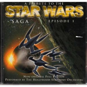 DVD FILM A TRIBUTE TO THE STAR WARS SAGA EPISODE 1