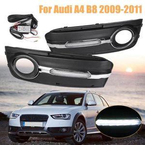 Nouvelle Audi A4 B8 2008-2011 pare-chocs avant sans lumière lave et PDC Trous