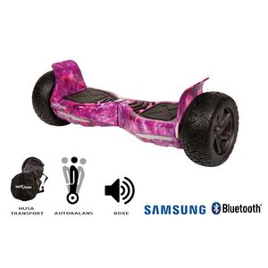 ACCESSOIRES GYROPODE - HOVERBOARD SMART BALANCE Hoverboard Hummer Galaxy Pink - 8.5