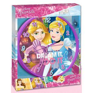 HORLOGE - PENDULE Horloge murale Princesses Disney