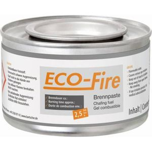 ETHANOL Gel combustible pour chafing dish Eco-Fire - 48 bo