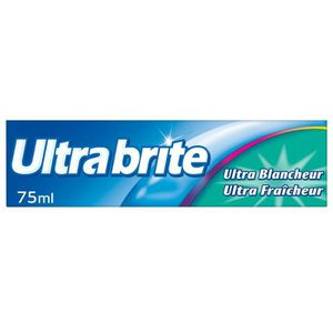 BROSSE A DENTS COLGATE Uultra Brite Fluor Dentifrice - 75ml
