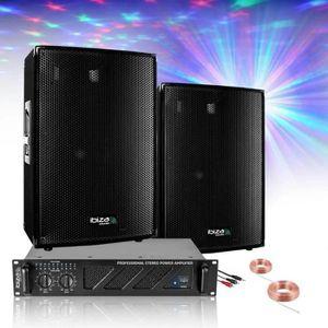 PACK SONO PACK POLE DANCE SONO 600W + AMPLI 480W + ENCEINTES