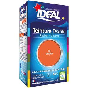 TEINTURE TEXTILE Teinture Tissu Idéal liquide orange 39 mini eintur