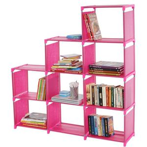 bibliotheque rose achat vente bibliotheque rose pas. Black Bedroom Furniture Sets. Home Design Ideas