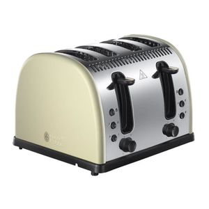 GRILLE-PAIN - TOASTER Russell Hobbs 21302 Grille-Pain À 4 Fentes En Acie