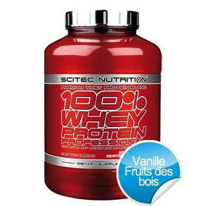 ACIDES AMINÉS 100% Whey Protein Professional - 2350 g - Vanil…