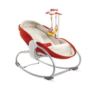 TRANSAT TINY LOVE Transat Rocker-Napper 3 en 1 - Rouge