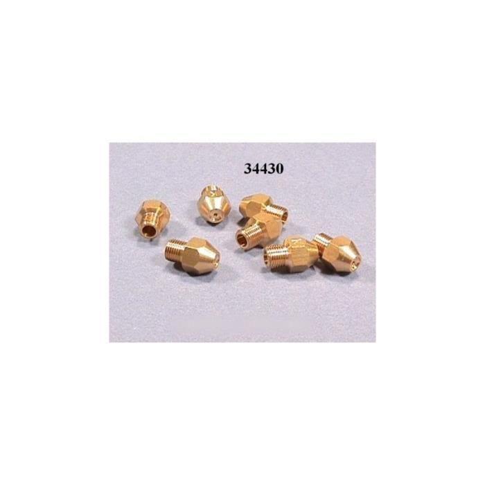 Sachet injecteurs gaz butane 8 m-m pour cuisinière ARISTON 34516 - KIT INJECTEURS GAZ BUTANE BRANDT - BVMPièces