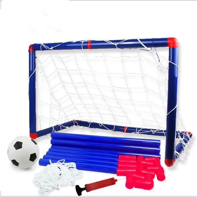 Ensemble de But de Foot avec Un Mini Football Pour Enfants 90cm x 60cm x 47cm