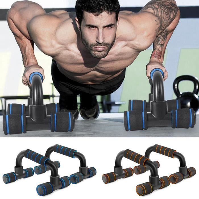 Push up musculation barre de traction de fitness Orange