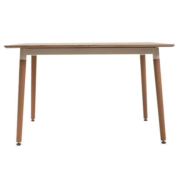 TABLE EXTENSIBLE BOIS 120-150X80XH75CM