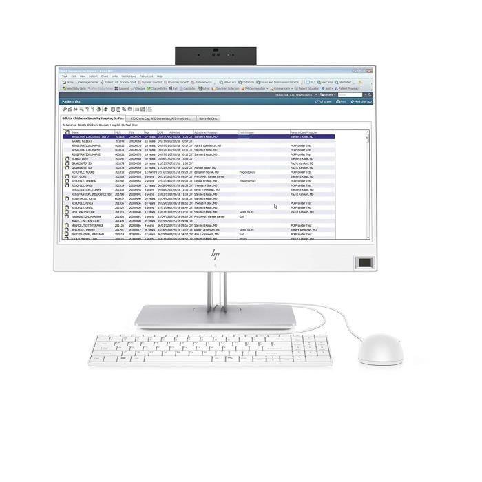Ordinateurs de bureau Tout-en-un HP EliteOne 800 G4 Healthcare Edition 60,5 cm 1920 x 1080 Pixels 3 GHz Intel® Core i5 d 378783