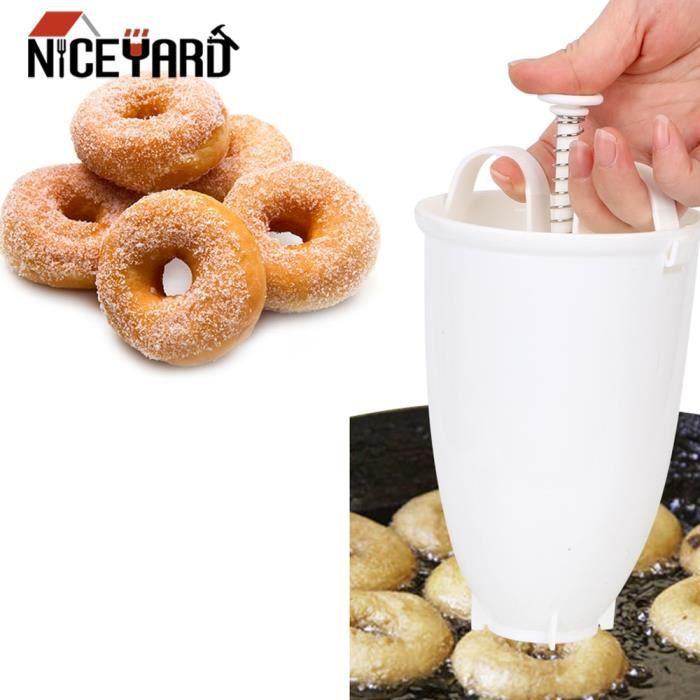 Moule à gateaux,Moule à donuts Portable en plastique, facile et rapide, distributeur de gaufres, gaufrier, gaufrier arabe, léger