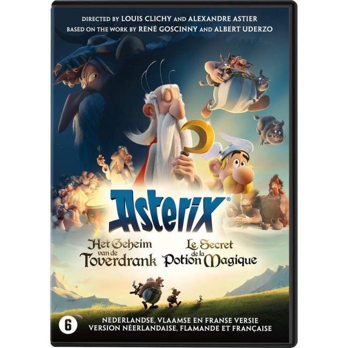 Astérix Le secret de la Potion Magique DVD