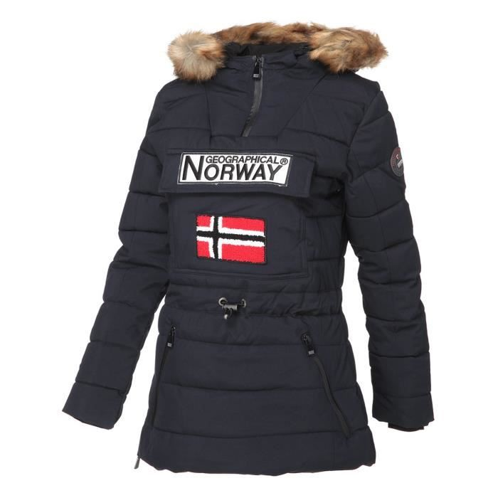 GEOGRAPHICAL NORWAY Parka Bougie 005 - Femme - Marine