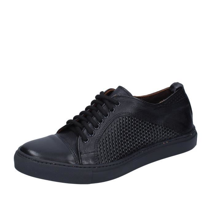 VIVA Chaussures Homme Baskets Noir BN845