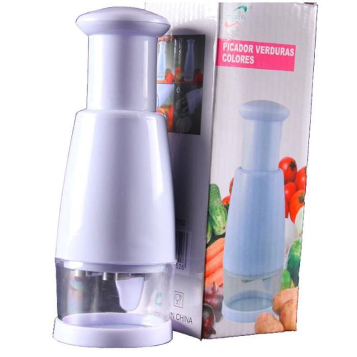 Hachoir à oignons manuel multifonction broyeur à ail pressant coupe-aliments trancheuse à légumes éplucheur hachoir outils cuisine
