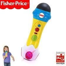 FISHER PRICE Micro enregistreur Rap