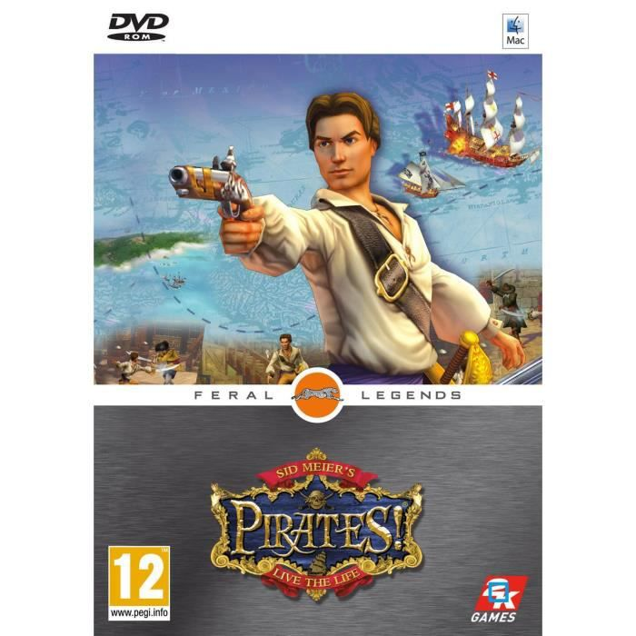 sid meier 39 s pirates import allemand achat vente jeu pc sid meier 39 s pirates import. Black Bedroom Furniture Sets. Home Design Ideas
