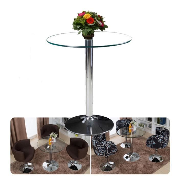 tables basses ronde de salon en verre achat vente table basse tables basses ronde de salo. Black Bedroom Furniture Sets. Home Design Ideas