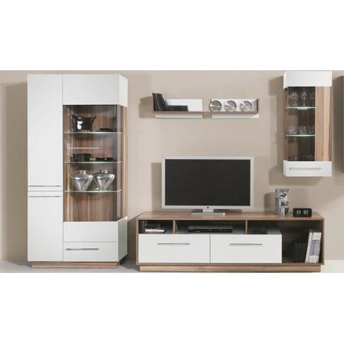 vaisselier moderne trois portes white achat vente. Black Bedroom Furniture Sets. Home Design Ideas