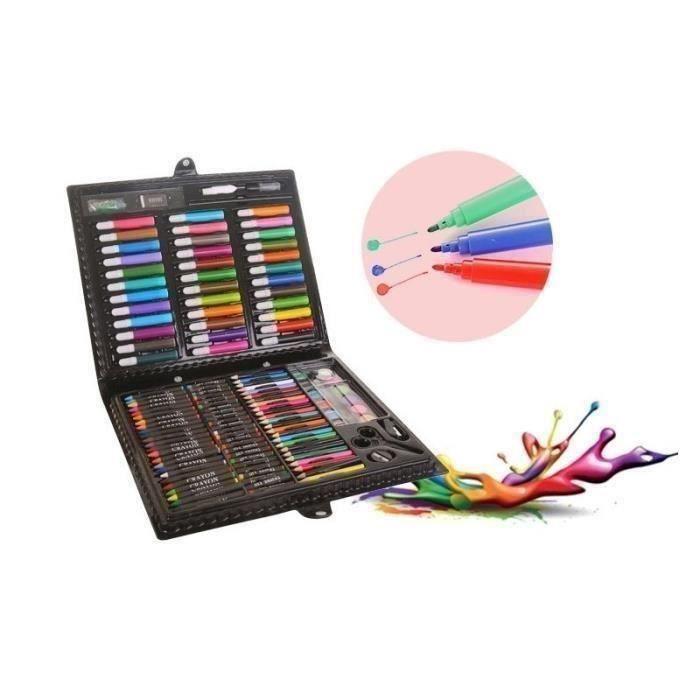 KIT DE DESSIN Fournitures d'art 150 PCS Peinture créative Enfant