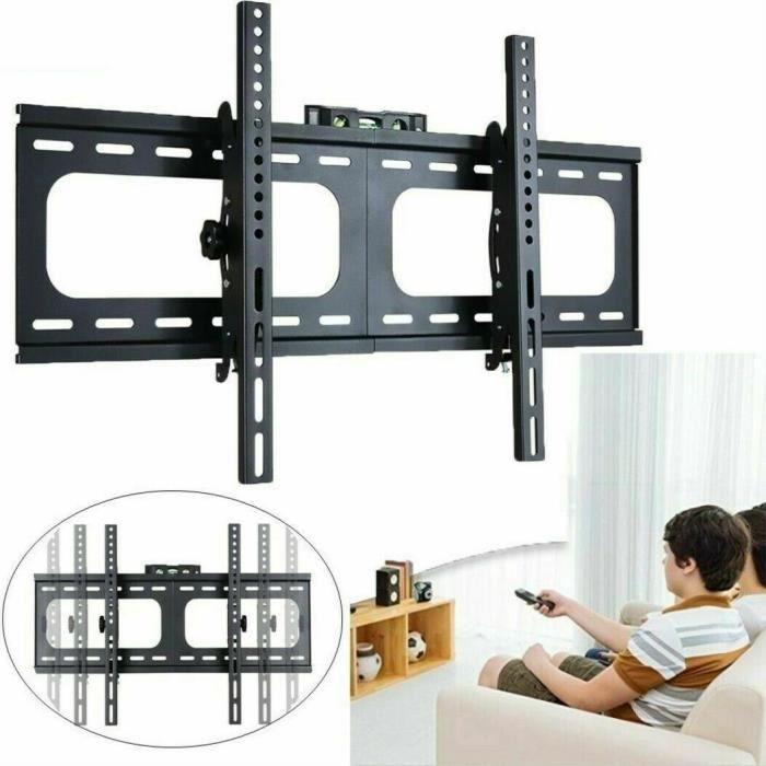 Fleximounts CR1 Support pour /écran incurv/é Support Mural pour Les /écrans Plats et incurv/és pour UHD OLED 4k Samsung LG Vizio etc TVs de 32-65 Pouces