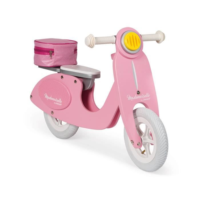 Photo de janod-draisienne-scooter-rose-mademoiselle-janod