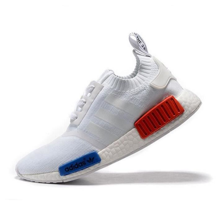adidas nmd rouge et bleu