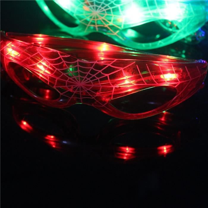 429 Lunettes soleilsLED Glowing Spider-Man Halloween