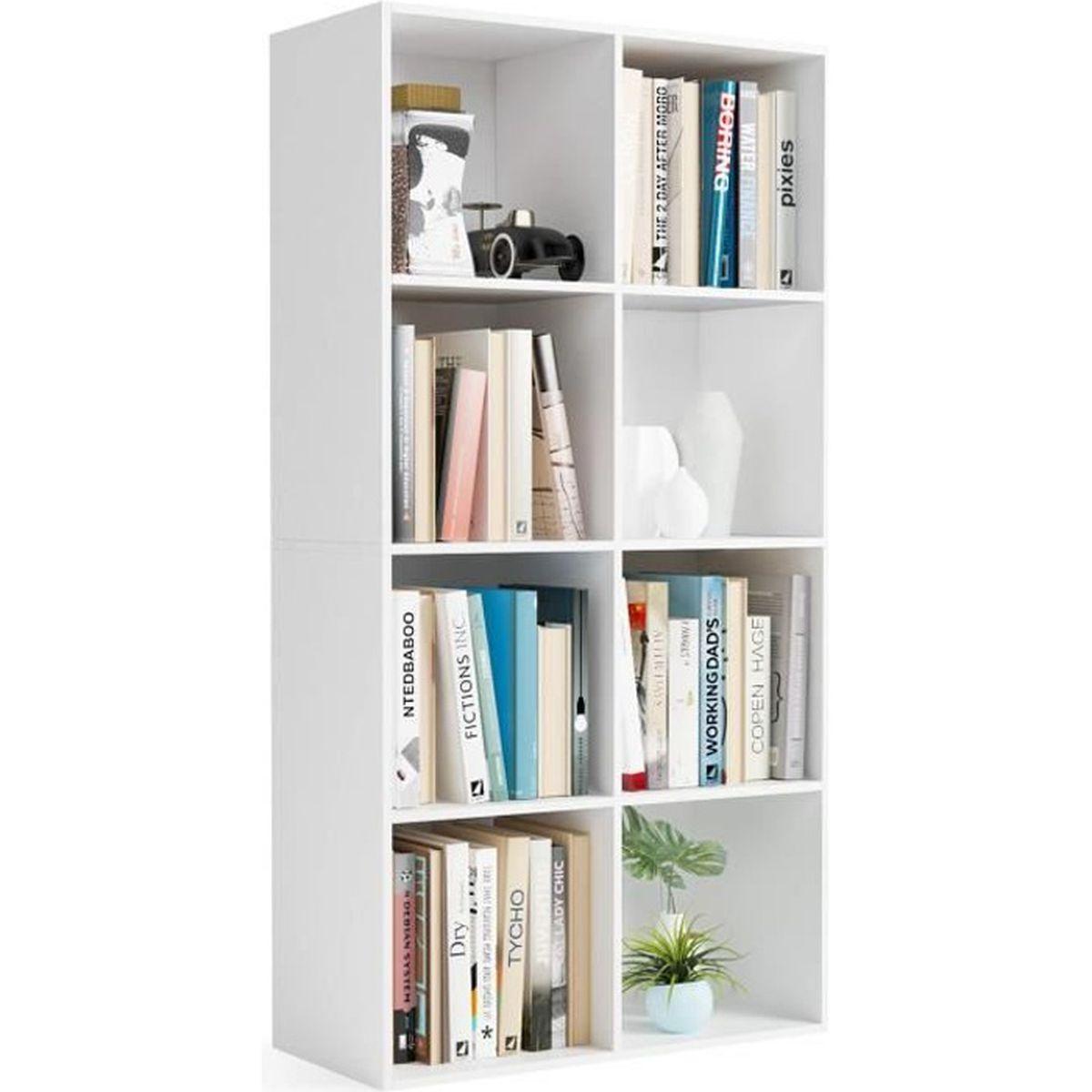 Rangement Pour Le Bois homfa bibliothèque etagère bibliothèque livres rangement